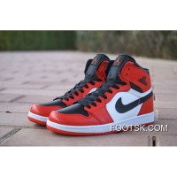Copuon Code Nike Air Jordan 1 AJ1 Action Leather Flying Wing Is Red