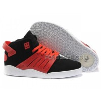 Hot Supra Skytop III Red Black White Men's Shoes