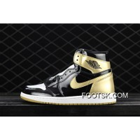 Air Jordan 1 Top3 Complexcon Black Gold What The 861428-001 New Style