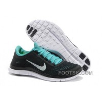 Mens Nike Free 3.0 V5 Black Green Running Shoes New Style