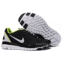 Nike Free TR Fit Mens Training Shoes Black Green Cheap To Buy