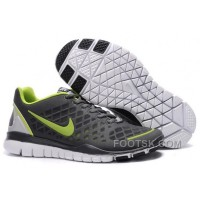 Nike Free TR Fit Mens Training Shoes Grey Green For Sale
