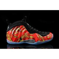 "2015 New Arrival Nike Air Foamposite One ""Red Supreme"" Cheap Online Discount"