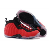 """For Sale Nike Air Foamposite One """"Red Suede"""" Red/Black Online Discount"""