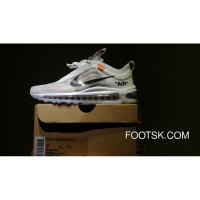 Nike Air Max 97 OG AJ4585 100 Off White The 10:Max97 New Release
