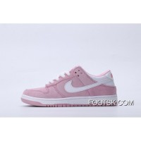 Nike Dunk Low GS 309601-604 White Pink Women New Style