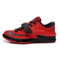 Kids Nike KD 7 (VII) Action Red/Black Cheap For Sale Discount Online