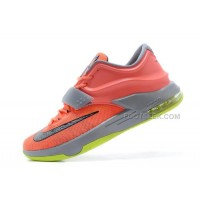 """For Sale Nike KD 7 (VII) """"35K Degrees"""" Bright Mango/Space Blue/Light Magnet Grey On Sale Discount Online"""