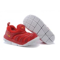 Nike Anti Skid Kids Wearable Breathable Caterpillar Running Shoes China Red