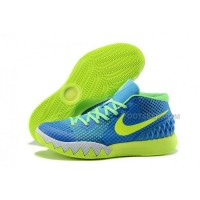 Cheap Nike Kyrie 1 2015 Blue Green White Basketball Shoes Sale 2016