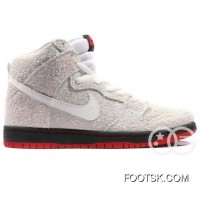 Black Sheep X Trd Nike SB Dunk Hi Nike SB Skateboard Shoes, 881758, 110 Scratch Sheepskin Wolf The Black Sheep Of The Discount