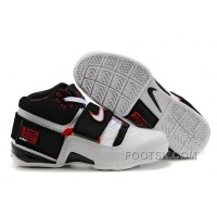 NIKE ZOOM Soldier VI James Soldier White Black Red NZH0609 Hot Sale
