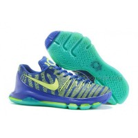 "Discount 2015 For Sale New Arrival Cheap KD 8 Shoes ""Sprite"" Hyper Cobalt"