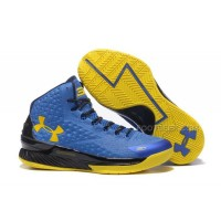 Under Armour Curry One Royal Blue/Yellow-Black