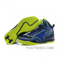 Under Armour Stephen Curry 3 Shoes Blue Green