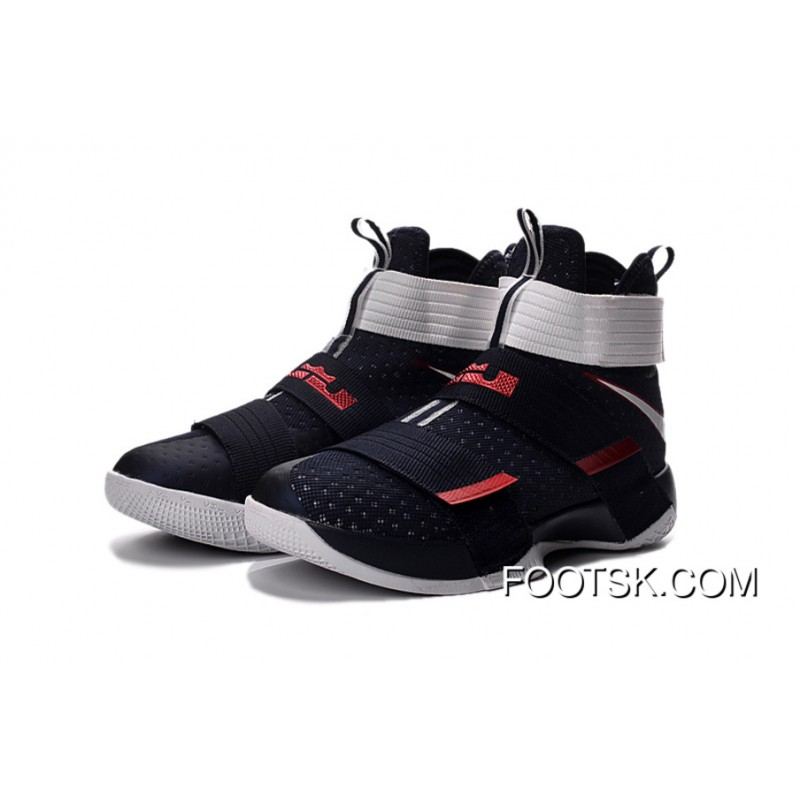 606a686febc  USA  Nike LeBron Soldier 10 Obsidian White-University Red Super Deals  XFNCsp