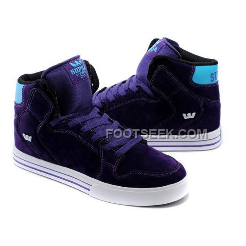 94aa0c3a67c9 Supra Vaider Purple Blue Men s Shoes Online