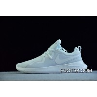 Nike All White Running Shoes Aa2071-100 Free Shipping