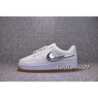 Free Shipping Air Force One Af 100 Nike One All White 3M Replacement Reflective Velcro Hook Women Shoes And Men Aq4211-100