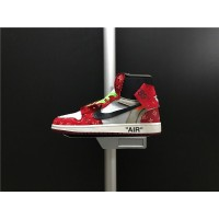 Top Deals Aa3834-104 Off - White Air Jordan X Lv Jordan Air Jordan 1 Generation Of The Three Parties To Be Limited Also Shoes Men Shoes