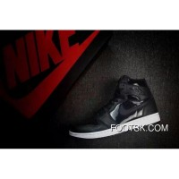 Air Jordan 1 High Black/Anthracite-White Best