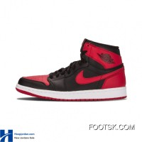 "2016 ""Bred"" Air Jordan 1 Retro High OG Black/Varsity Red-White Cheap To Buy AZBGEa"