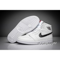 "2016 ""Yin Yang"" Air Jordan 1 Retro High White/Black-White Cheap To Buy YGAY6"