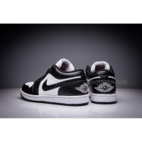 Nike Men's Air Jordan 1 Low Black White New Arrivals