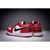 "Air Jordan 1 Low Retro ""Chicago"" White/varsity Red-black New Arrivals"