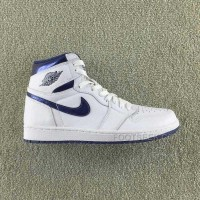 Air Jordan 1 Retro High OG 'METALLIC NAVY' 555088-106 Men And Women Size New Arrivals
