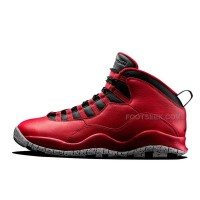 "For Sale Air Jordan 10 ""Red Cement"" Remastered For 2015 Vivid Red/Black-White Cement"