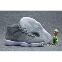 Air Jordan 11 Cool Grey Suede New Release