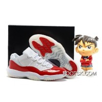 2016 Air Jordan 11 Low White Varsity Red Copuon Code