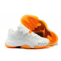 "2016 Air Jordans 11 Low ""Citrus"" Shoes New Release"