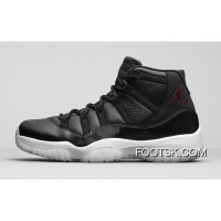 '72-10′ Air Jordan 11 Black/Gym Red-White-Anthracite Top Deals BMYjYJ