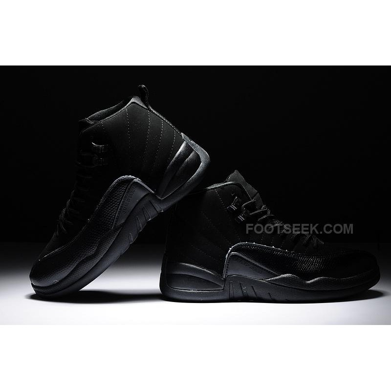 air jordan retro 12 all black