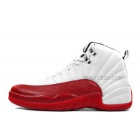 Air Jordan 12 Retro White/Varsity Red-Black Cheap For Sale Online
