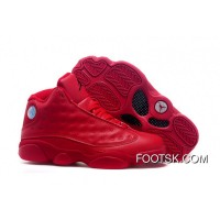 2016 Air Jordans 13 All Red Shoes New Release