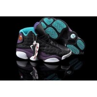 Air Jordan 13 XIII Retro Women Shoes Black Green