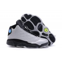 Nike Air Jordan 13 Doernbecher Mens Sneakers Silver Black Basketball Shoes