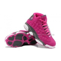 Nike Air Jordan XIII 13 Retro 2014 Womens Shoes Fushia