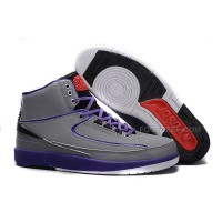 Air Jordan 2 (II) Iron Purple Safari/Infrared 23-Dark Concord-Black For Sale