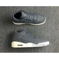 Air Jordan 3 Retro Wool Dark 854263-004 Super Deals