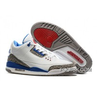 "2016 Air Jordan 3 ""True Blue"" Cheap To Buy"