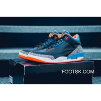 2016 'OKC' Air Jordan 3 Russell Westbrook PE For Sale AHcs8cR