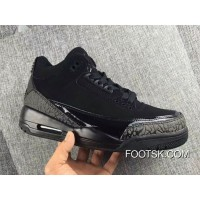 Air Jordan 3 Black Cat For Sale YmxheT