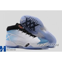 """UNC"" Air Jordan 30 XXX PE White/University Blue – Black Discount EFmN6KA"