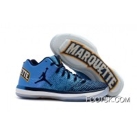 "Air Jordan XXXI Low ""Marquette"" New Release"