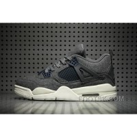 Air Jordan 4 Wool Dark Grey Top Deals