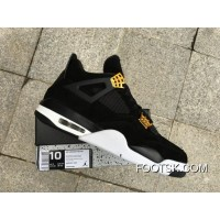 Air Jordan 4 Black Suede Cheap To Buy EM5iZ53
